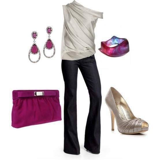 My all time favorite, classy, chic and savvy look!