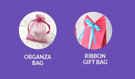 Organza Bags and Ribbons