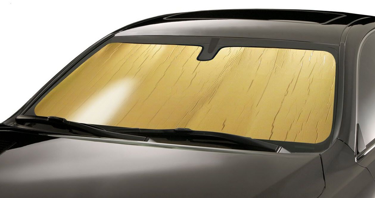 Early Volvo's Gold Sunshade (With images) Windshield sun
