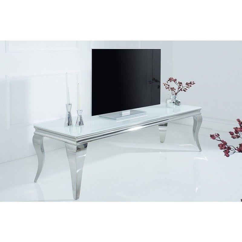 Barok Tv Kast.Tv Meubel Modern Barok 160cm Wit Zilver 37907 2020 Moderne