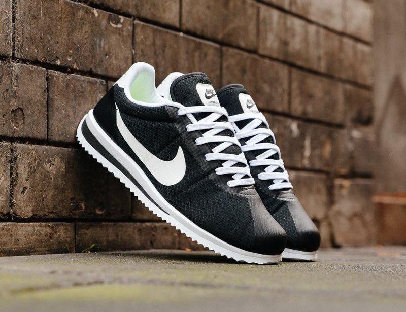 2bde6d2c9f8 Découvrez une Nike Cortez Ultra  Black White Volt  (homme)