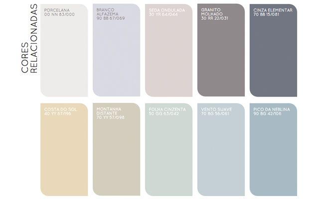 Colour Futures 2016 - Paleta tendência do ano pelas Tintas Coral;