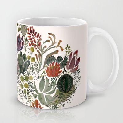 Succulents  Mug by Hannah Margaret Illustrations - $15.00