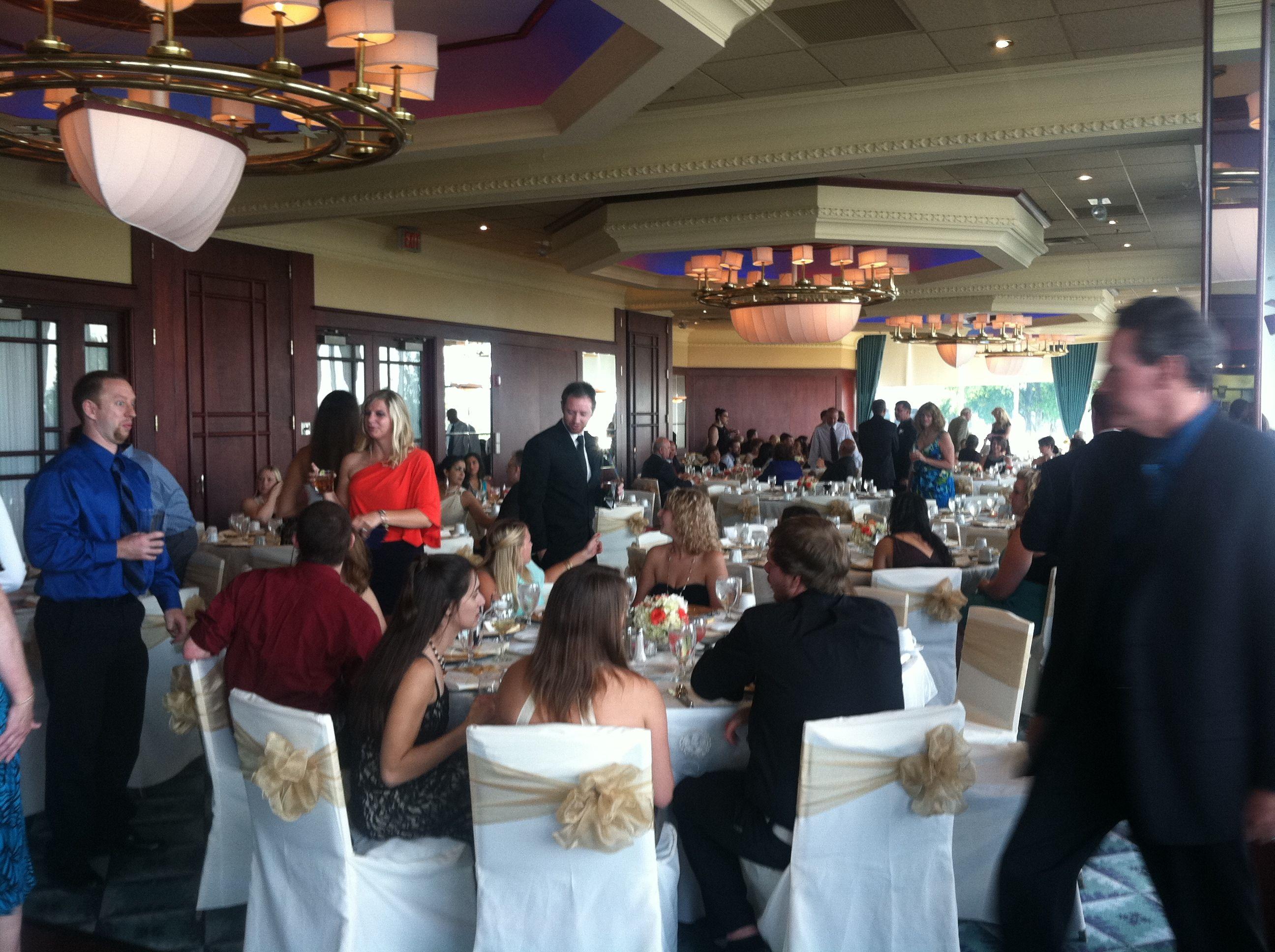 Commodore Ballroom Wedding August 2013.  MacRay Harbor The Banquet & Events Center