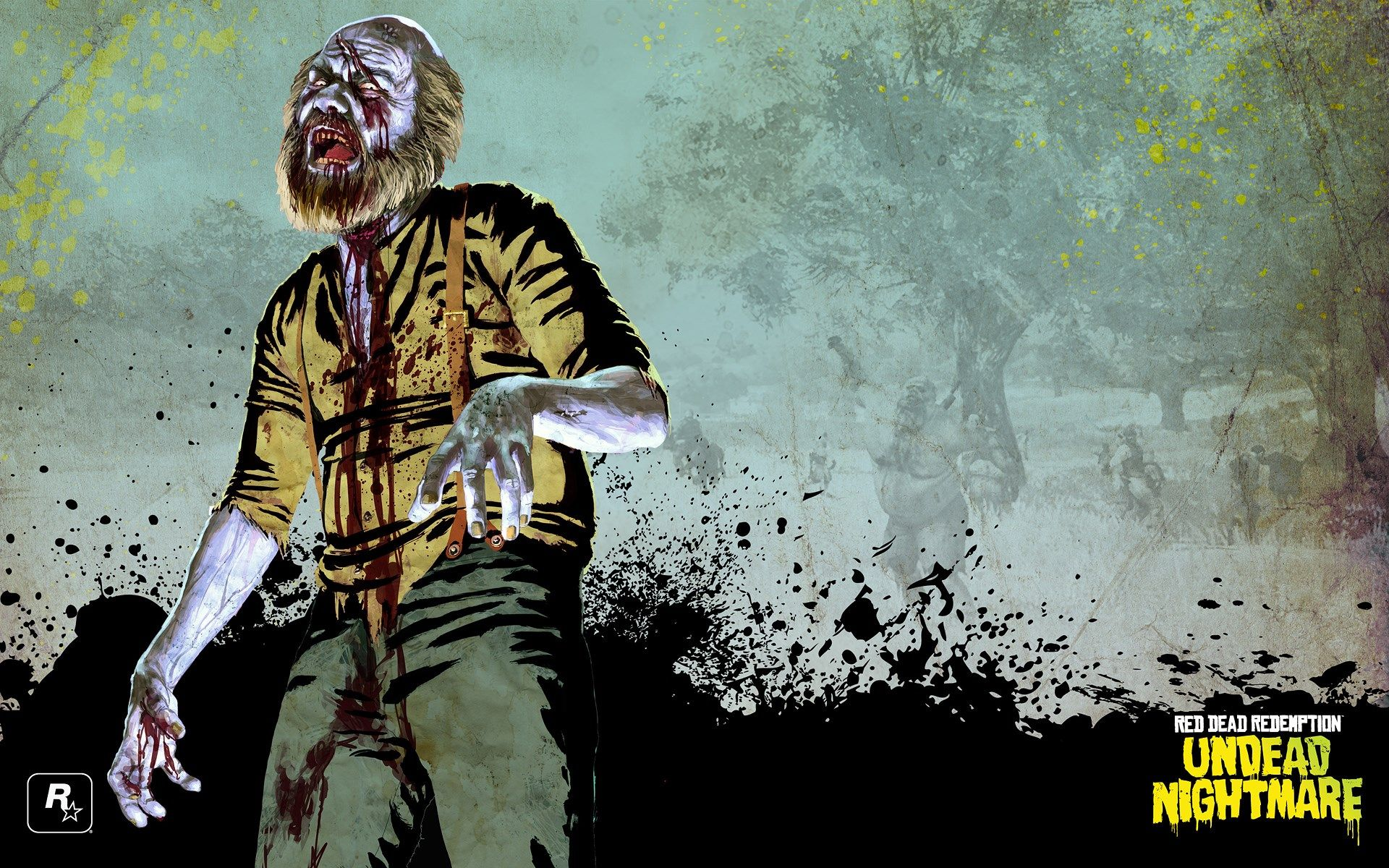 1920x1200 Red Dead Redemption Undead Nightmare Game Wallpaper