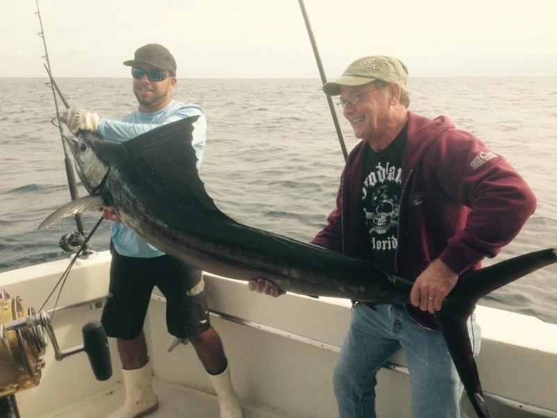 Nice sailfish caught sportfishing in #FtLauderdale.  Nice catch!  Let's go fishing! www.FishHeadquarters.com