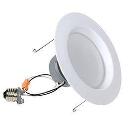 How To Change Recessed Light Bulb Gocontrol Zwave Recessed Lighting Retrofit Kit With Led Bulb