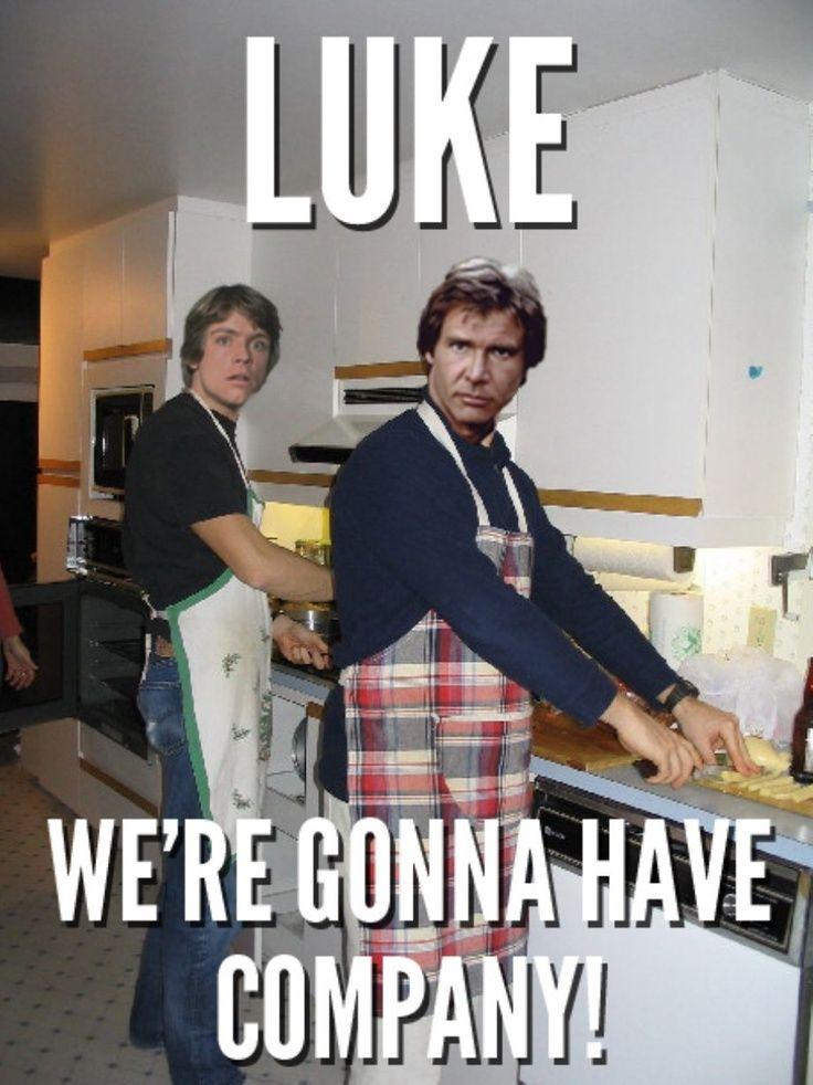 Luke, we're gonna have company! | Random Fandom | Funny star