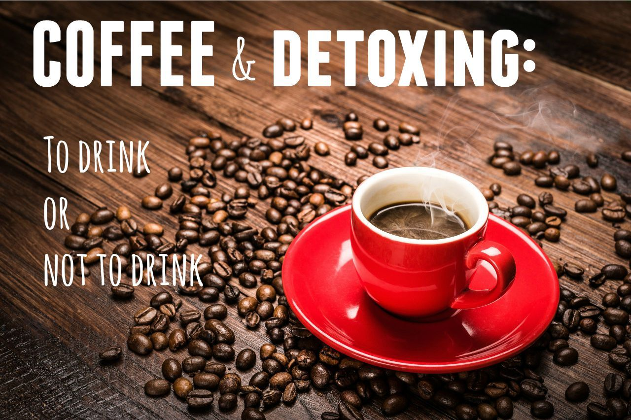 Struggling to give up your coffee for your detox? There