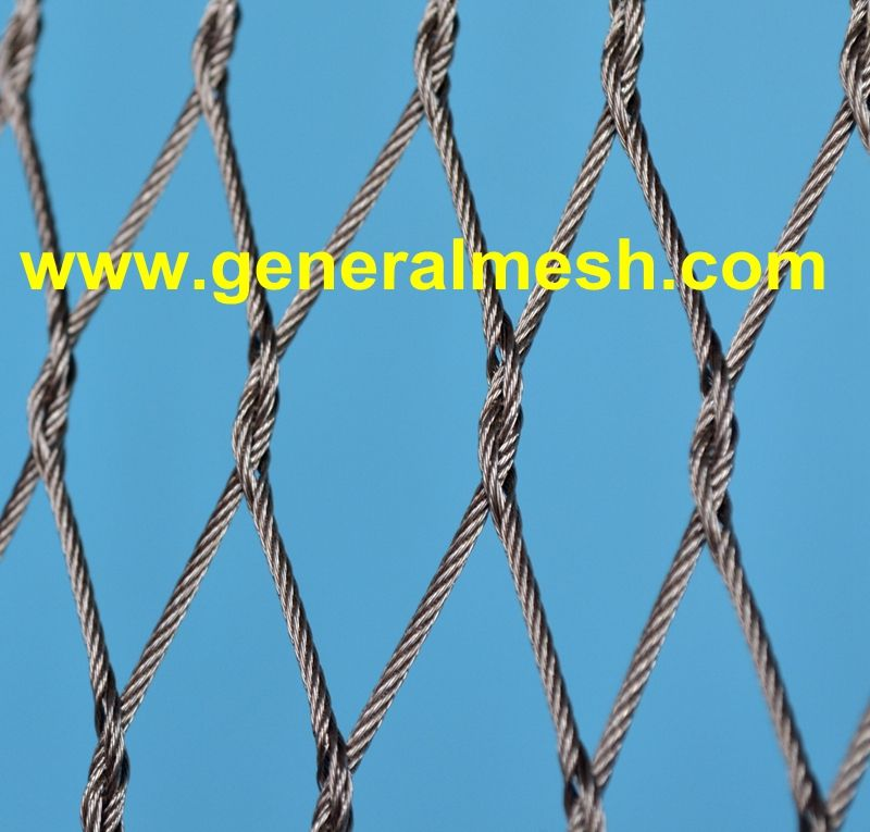 X Tend Tau Mesh Mesh Stainless Steel Cable Railing