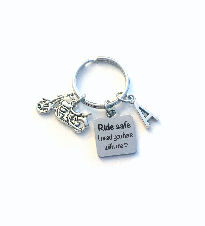 Love Keychain Safe Family Steel Drive Chain Men Key Gift Keyring Ring Stainless