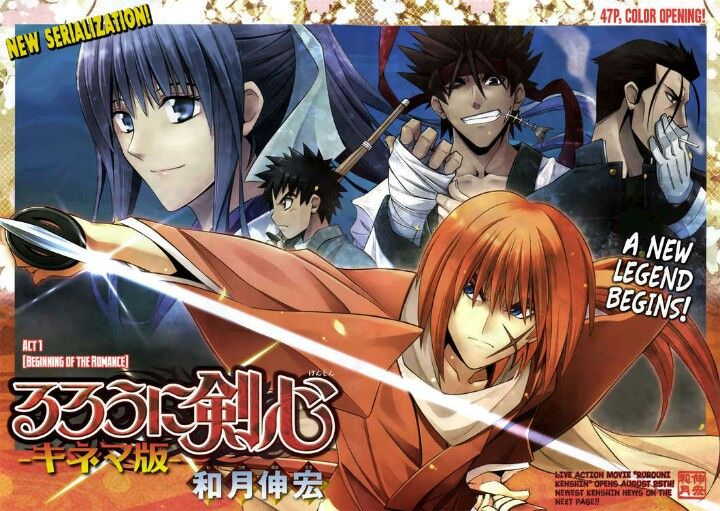 Rurouni Kenshin Restoration.. Act 1 Begining of the