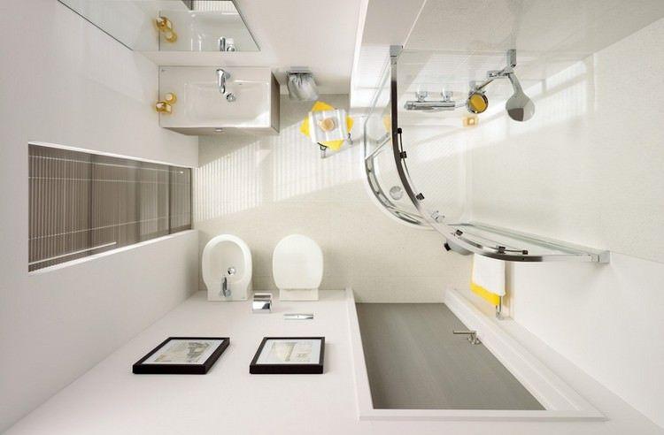 Foto Bagni Chiari : 50 idee per ristrutturare un bagno piccolo moderno e funzionale