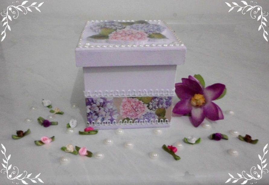 """caixa MDF """"Hortênsia"""""""