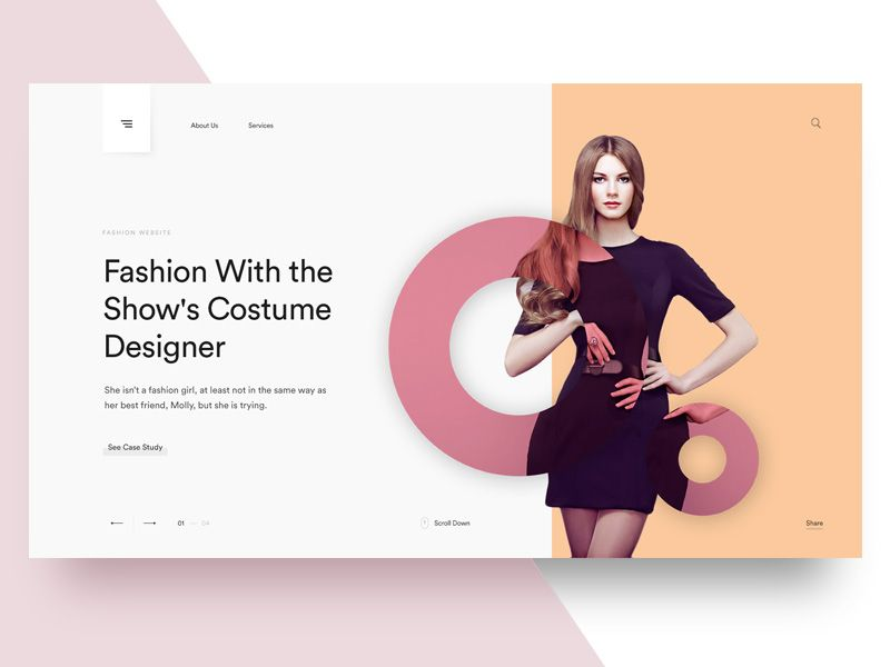Header Slider Idea   Website Header Design, Header Design, Web Development  Design