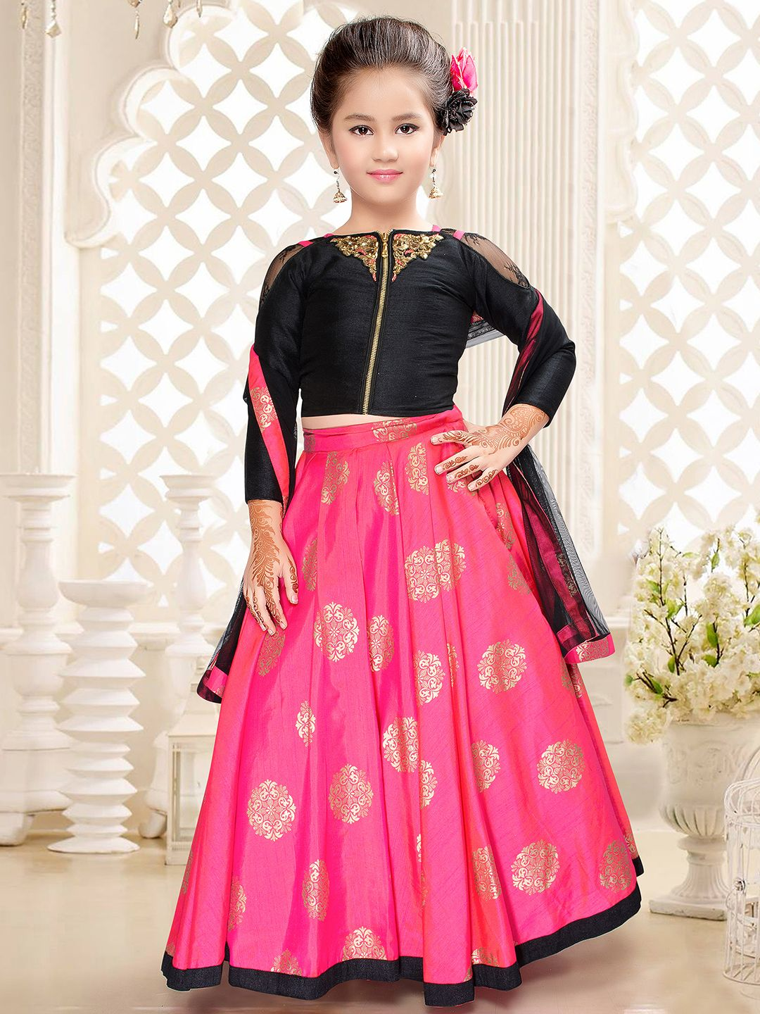 Top Indian wedding style for your little Princess Kids Indian Wear d259a716e