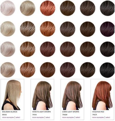 Madison Reed Reviews Before \ After Pics and Real Results - hair color chart