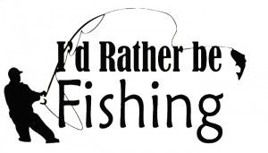 Fishing Sayings And Quotes Wall sticker decal quote vinyl