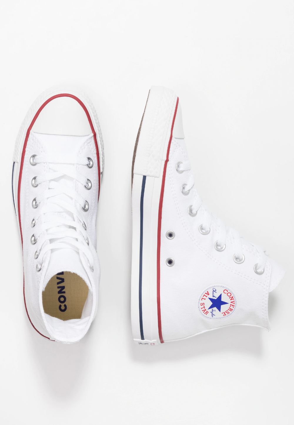 CHUCK TAYLOR ALL STAR HI - Baskets montantes - white ...