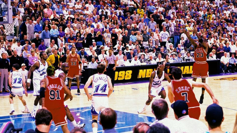 On this Date: MJ sinks jumper over Russell for 6th championship ...