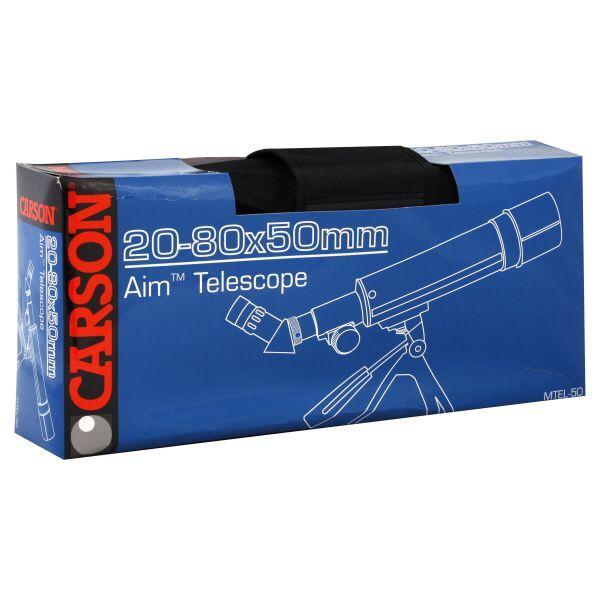 Carson Telescope, Aim, 1 telescope