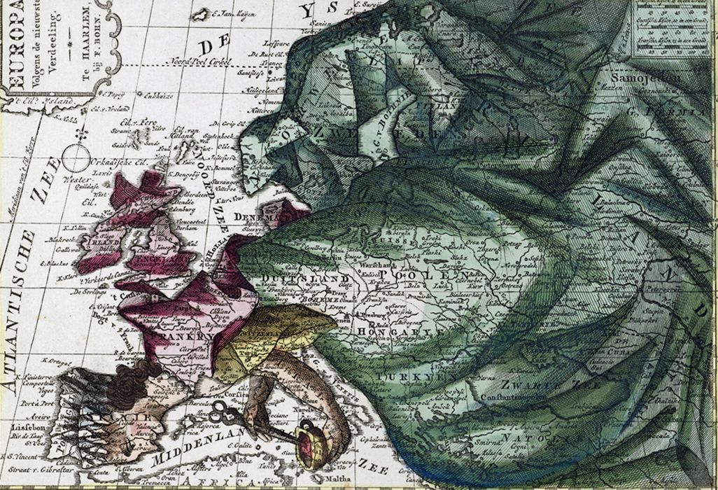 Illustrated Maps Illustrated Queen on a map