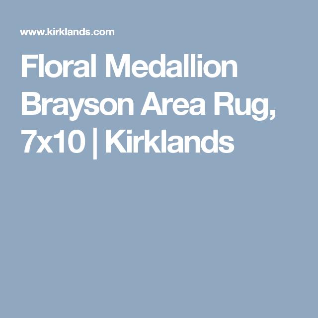 Floral Medallion Brayson Area Rug 7x10