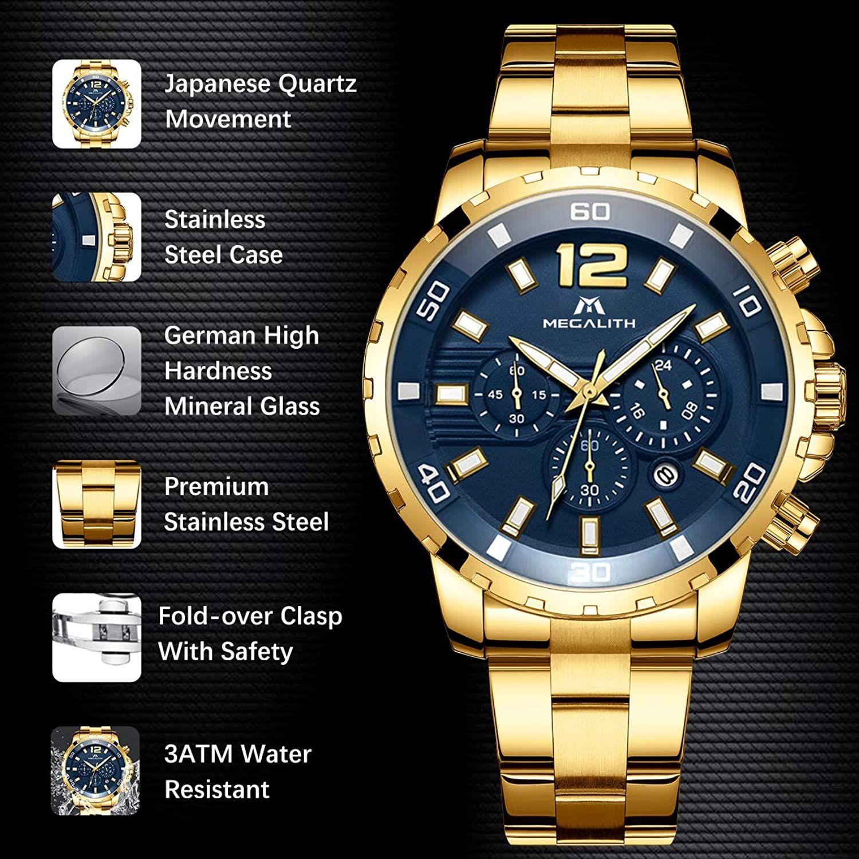 Relojes Hombre Relojes Grandes De Pulsera Militares Cronografo Disenador Luminosos Impermeable Reloj Hombre D En 2020 Cronografo Reloj De Acero Inoxidable Reloj Grande