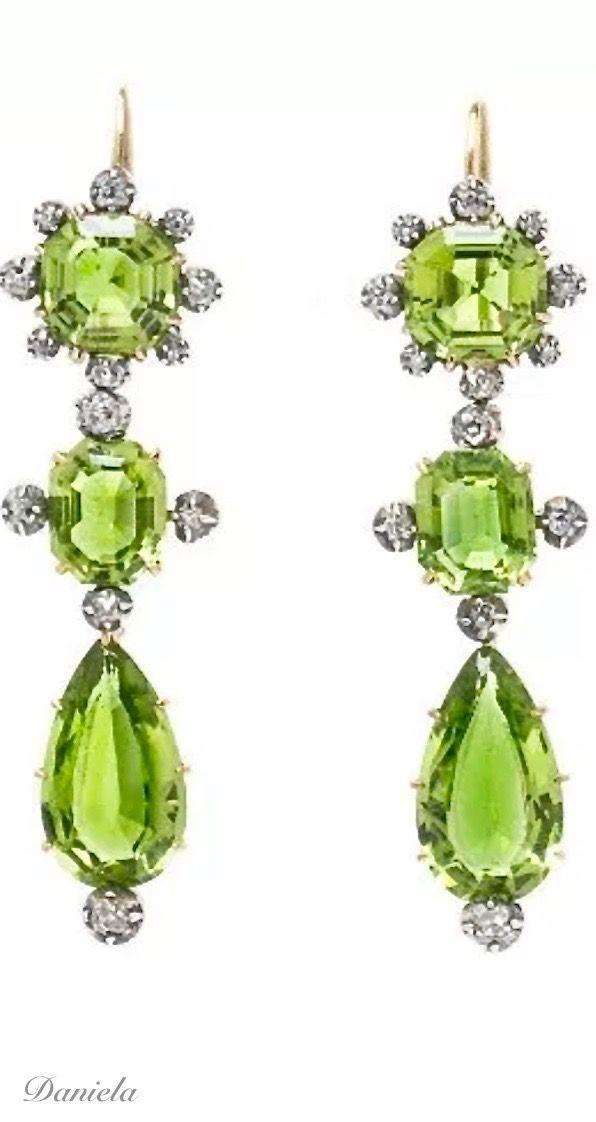 Peridot and Diamond