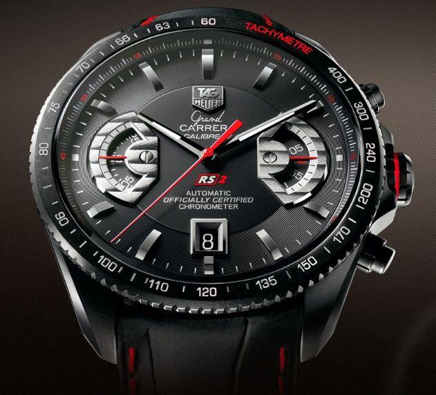 94c910e50db Relógio TAG Heuer Grand Carrera Calibre 17 - Caixa redonda