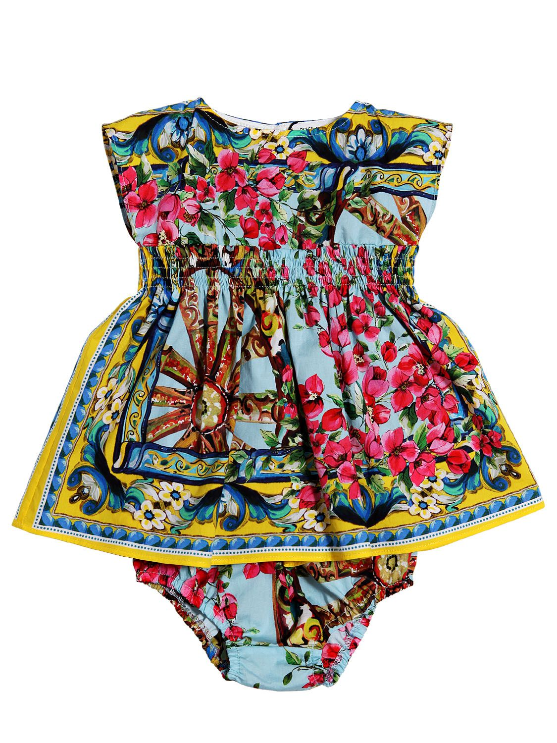 DOLCE & GABBANA - COTTON POPLIN DRESS SET - LUISAVIAROMA - LUXURY SHOPPING WORLDWIDE SHIPPING - FLORENCE $440