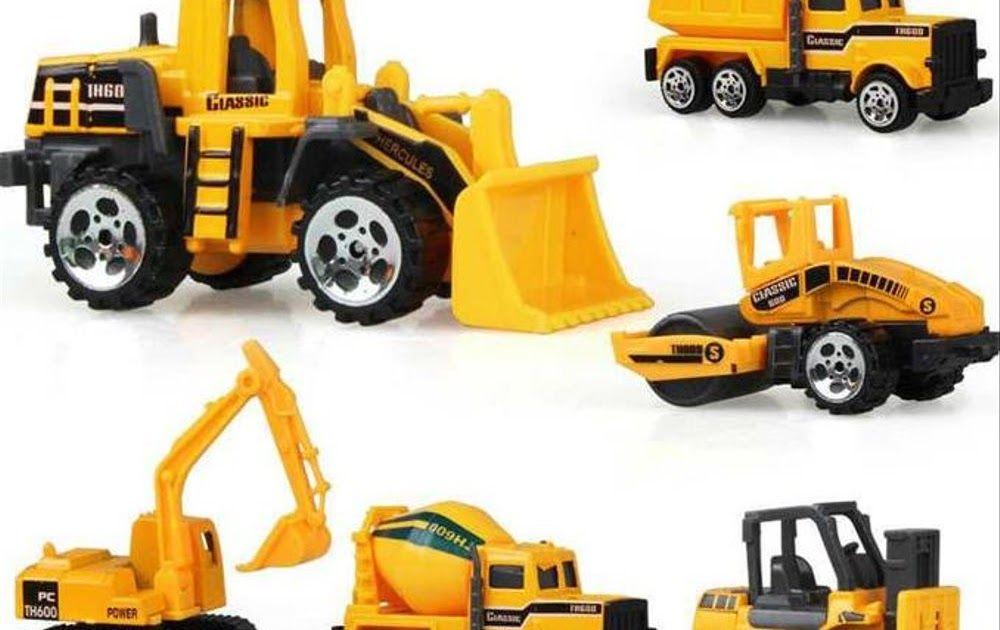17 Gambar Kartun Bermain Mobil Mobilan Promo Mainan Mobil Mobilan Truck Konstruksi Diecast Anak 6pcs Kuning Download Mobil Di 2020 Kendaraan Konstruksi Mobil Truk