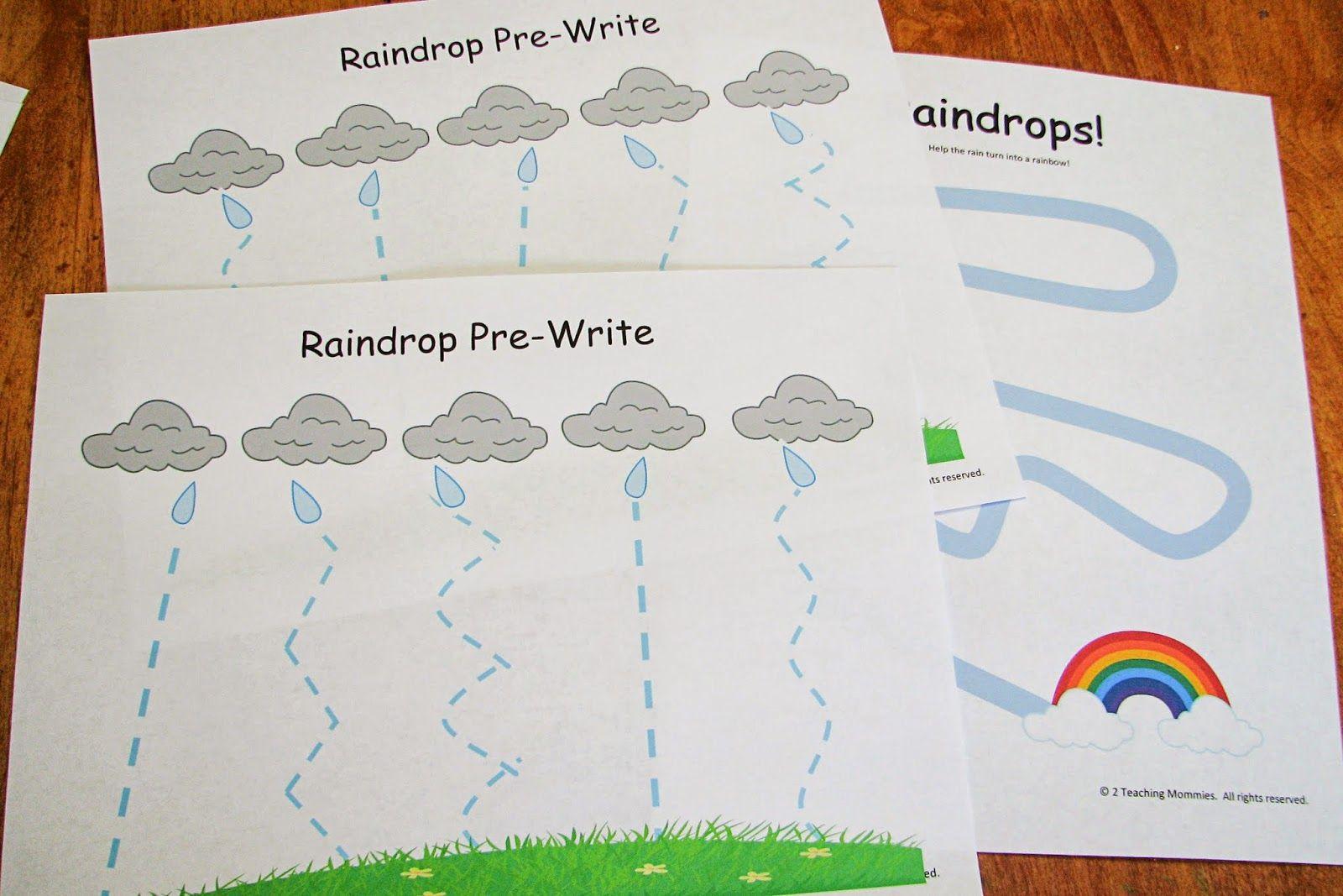 Rain Preschool Theme Mommy S Little Helper