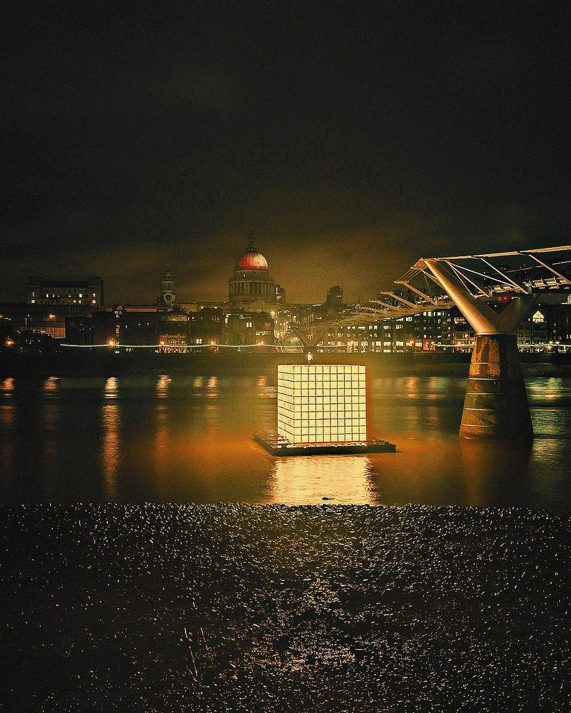Floating Dreams The large installation is a memorial to the victims of the Korean War (1950-53). It has tiny 500 drawings which were created by people displaced by the war and depict their memories of home. #greatfireoflondon #greatfire365 #ikjoongkang #