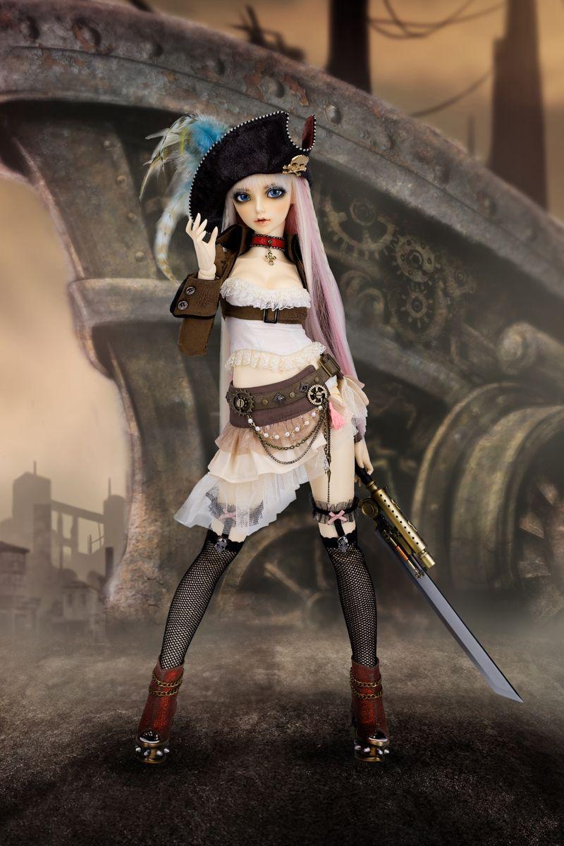 FairyLand Ball Joint Doll Shopping Mall Steampunk dolls