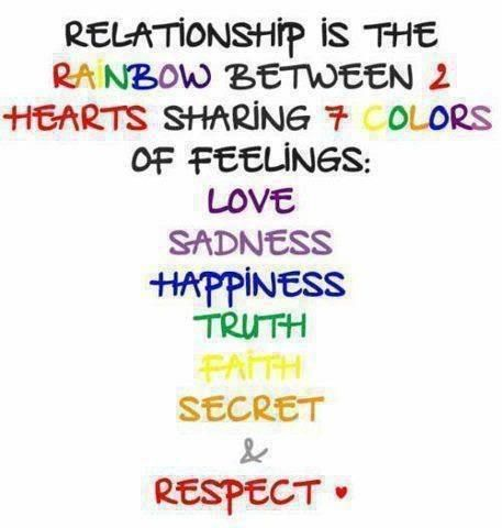Relationships & Rainbows life quotes quotes quote life quote relationship quotes