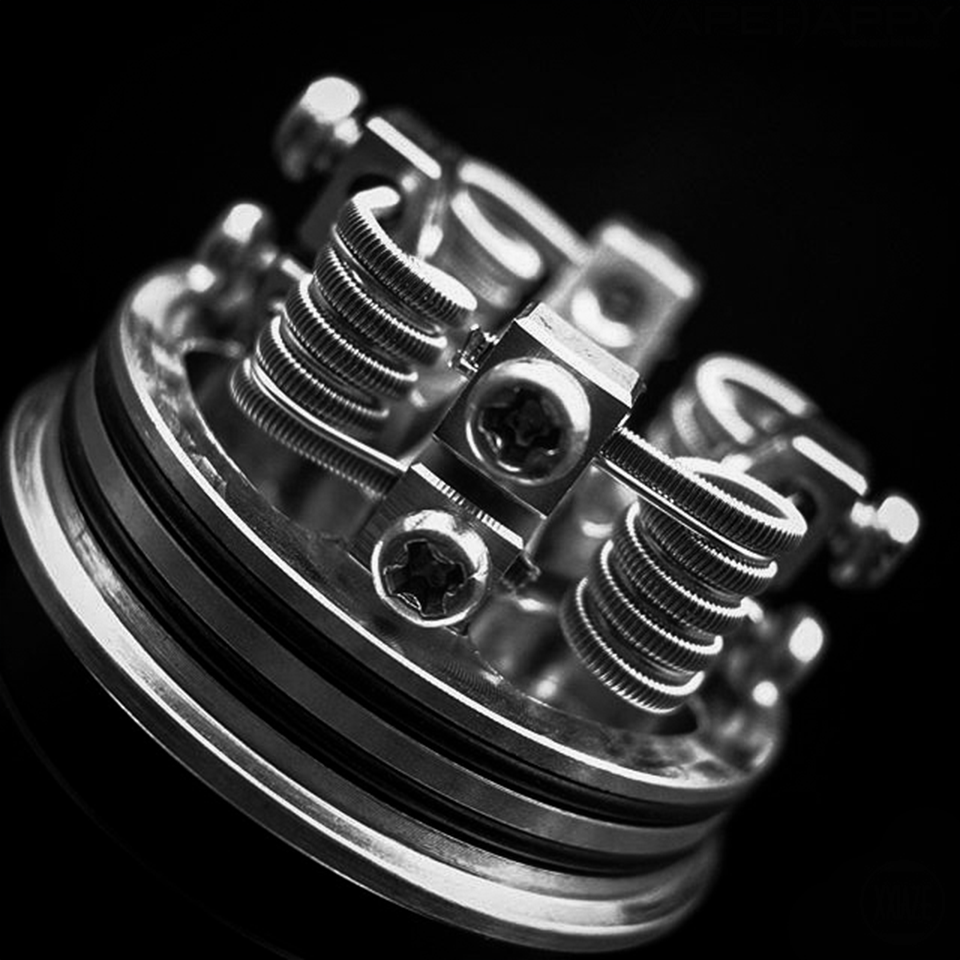 My Build of Vicious Ant 30mm Goliath RDA  I had to make some minor