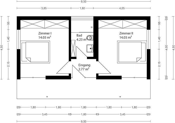 Neues wohnen im cubig designhaus minihaus pfmtech1 for Mobiles wohnen im minihaus