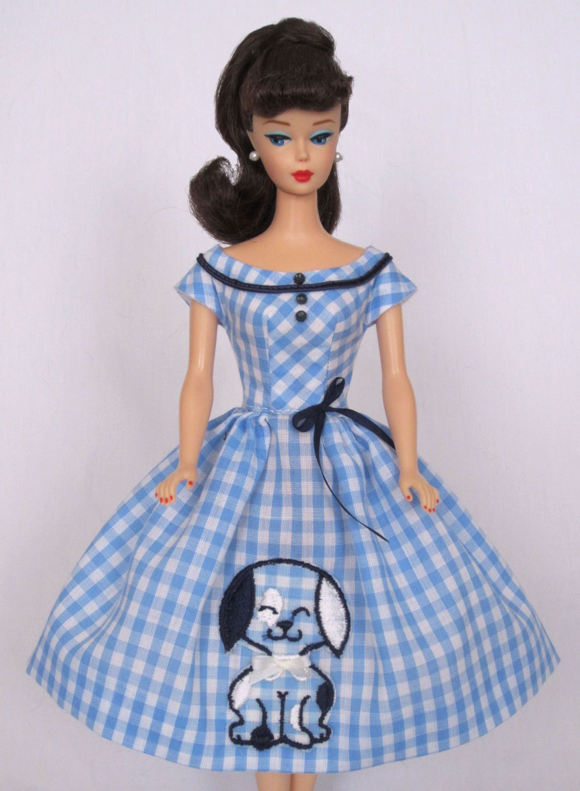 Sweet And Sassy Vintage Barbie Doll Dress Reproduction Barbie Clothes On Ebay Http Www Ebay Com Usr Fanfa Barbie Dress Barbie Clothes Vintage Barbie Dolls