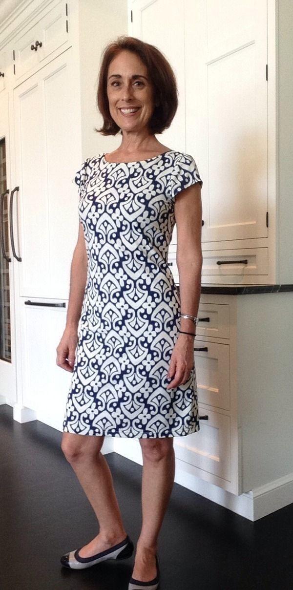 Modern Shift Dress Pattern