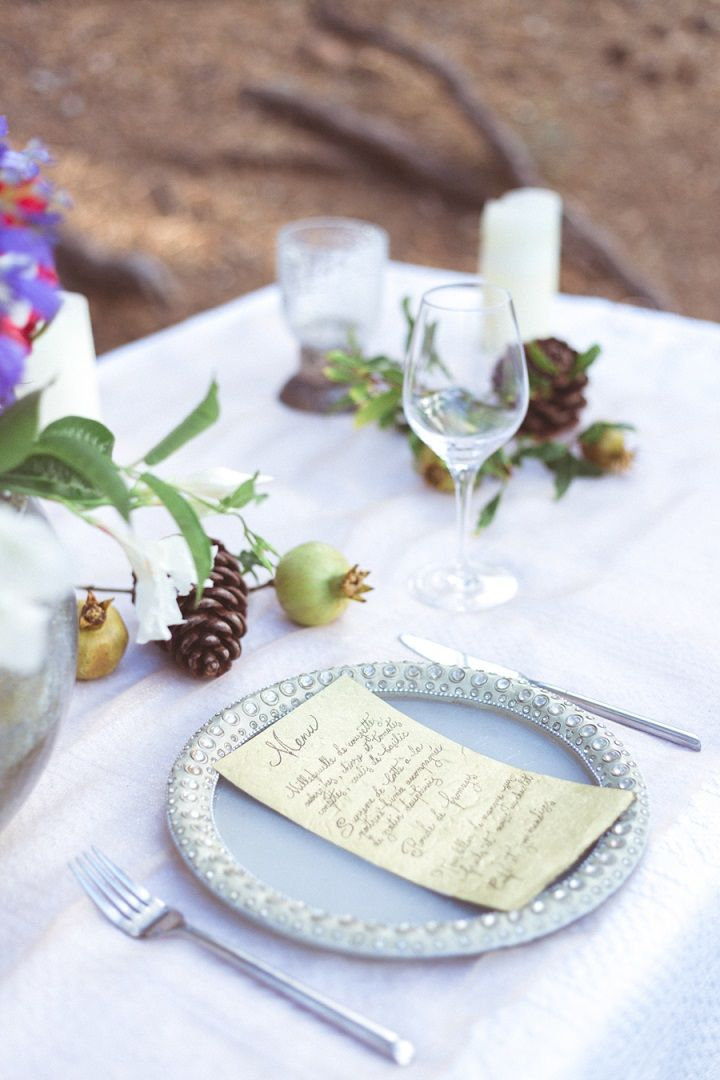 Wedding Place Setting | fabmood.com #weddingplacesetting #placesetting
