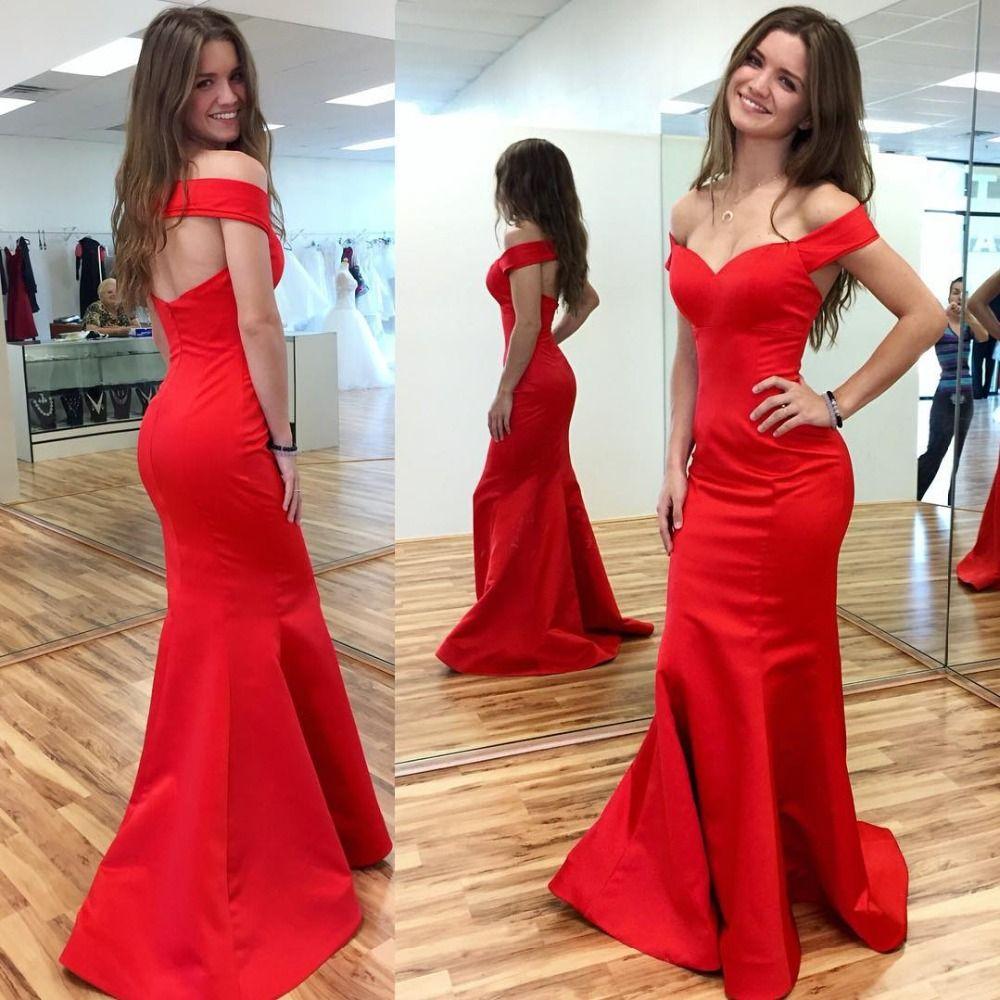 Aliexpress buy sexy red sweetheart neckline mermaid evening