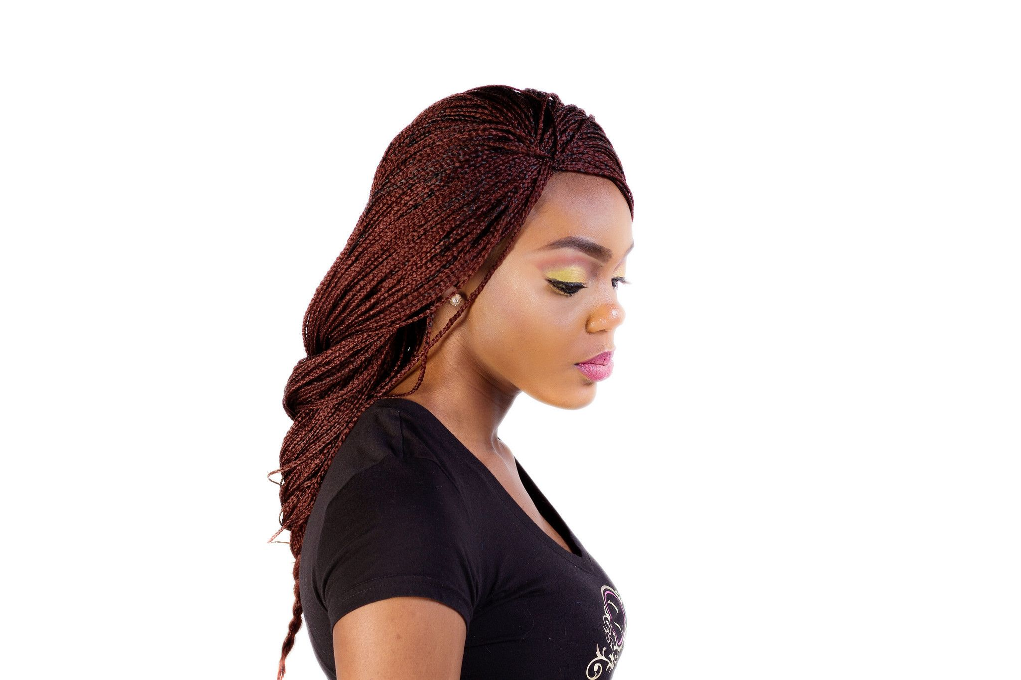 Fully Hand Braided Micro Style Lace Front Box Braids- #35 | Wig ...