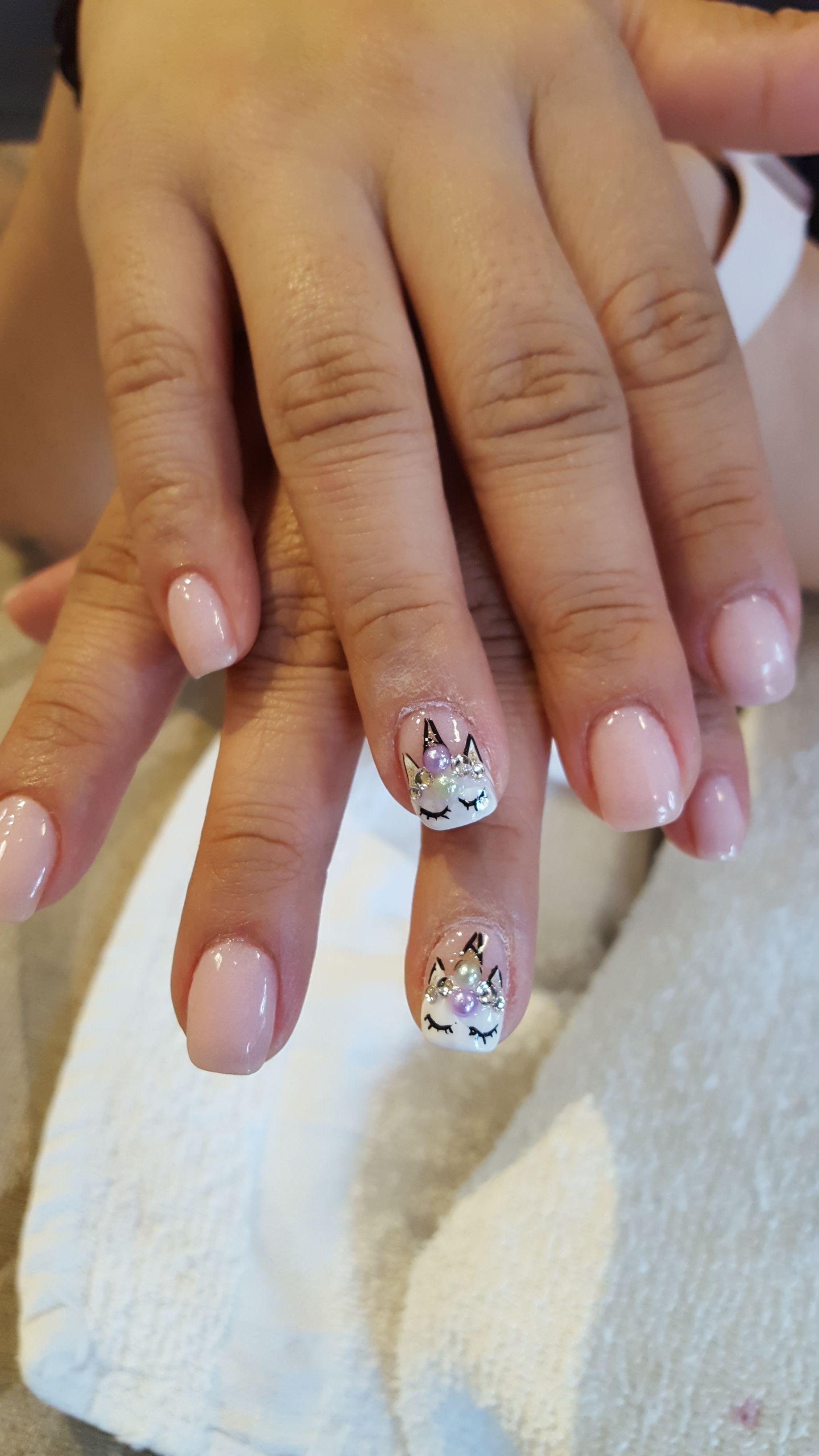 Sns Dip Powder Set With Unicorn Hand Art Design Dippowder Dippingpowder Snsdip Unicorn Unicornnails Cutenails Socu Cute Nails Unicorn Nails Nails