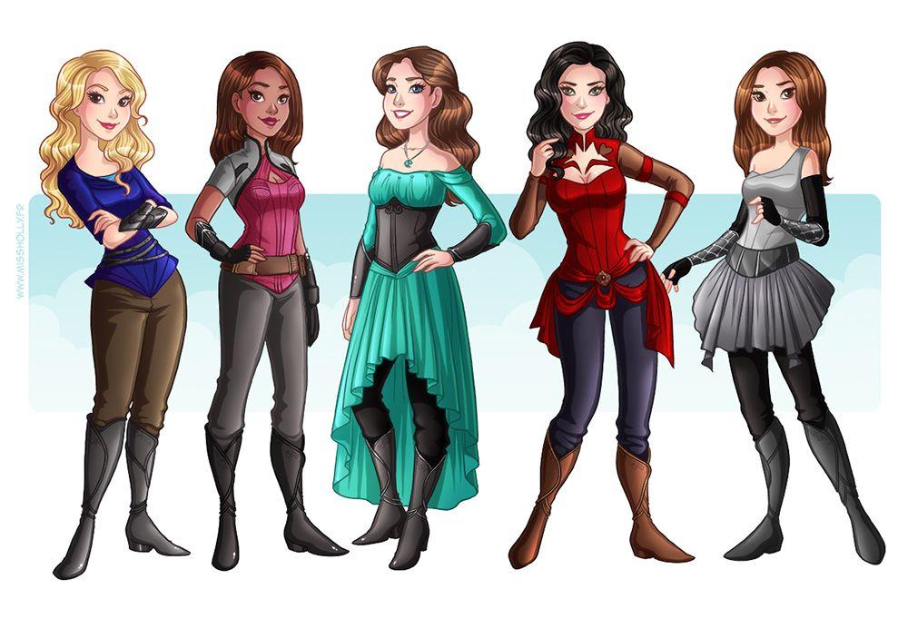 girls hollybell fashion illustration