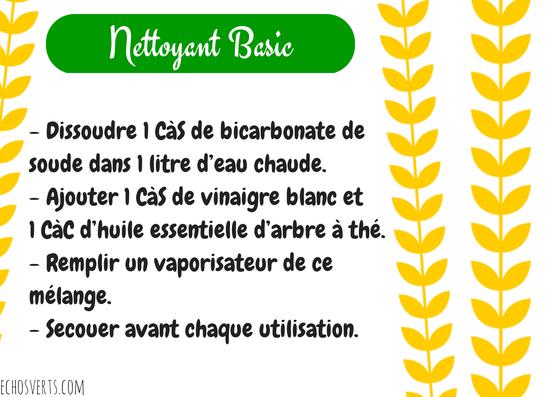 Produit nettoyant maison finest fabriquer son nettoyant pour le sol soimme luapprenti ecolo - Recette bicarbonate de soude vinaigre blanc ...