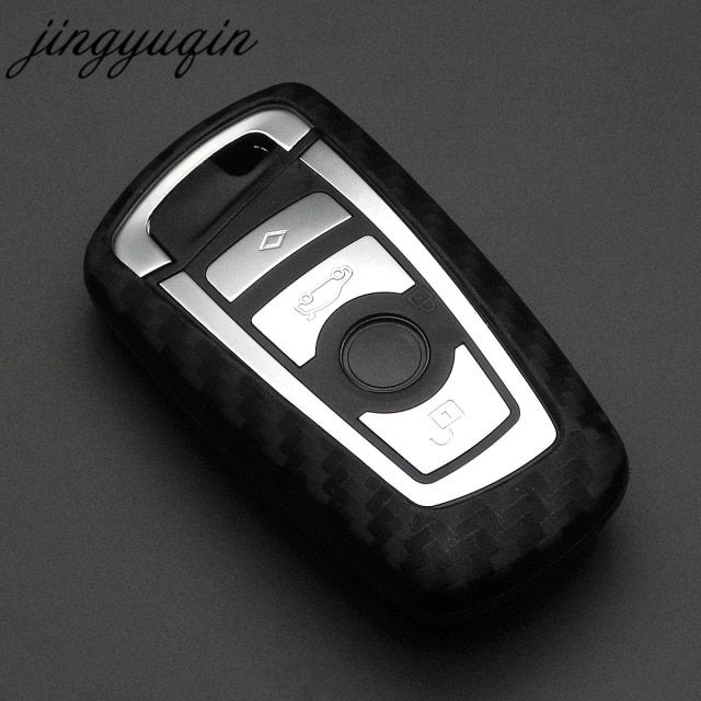 Car Key Protection Case For Bmw 520 525 F30 F10 F18 118i 320i 1 3 5 7 Series X3 X4 M3 M4 M5 Leather Car Key Cover Ring Styling Interior Accessories