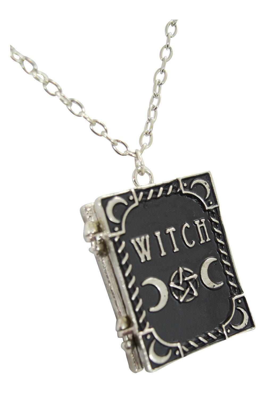 Restyle gypsy gothic dark magic witchcraft witch book locket pendant restyle gypsy gothic dark magic witchcraft witch book locket pendant necklace aloadofball Choice Image