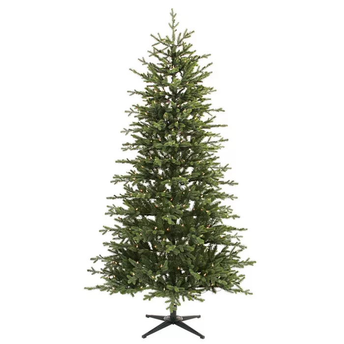 7ft Pre Lit Artificial Christmas Tree