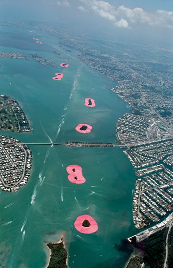 Christo and Jeanne-Claude Surrounded Islands, Biscayne Bay, Greater